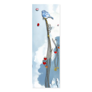 Baby Bluebird  Bookmark Pack Of Skinny Business Cards