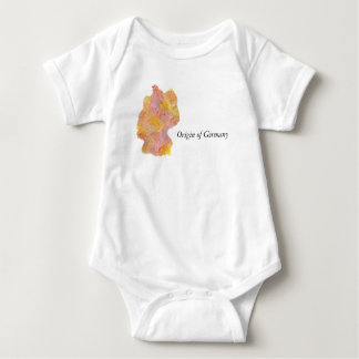 Baby body Origin of Germany Baby Bodysuit