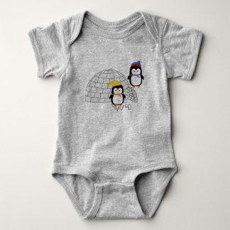 Baby Body penguin on route Baby Bodysuit