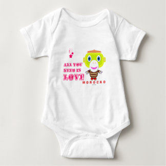 Baby Bodysuit    All You Need Is Love By Morocko