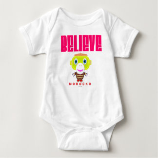 Baby Bodysuit    Believe By Morocko