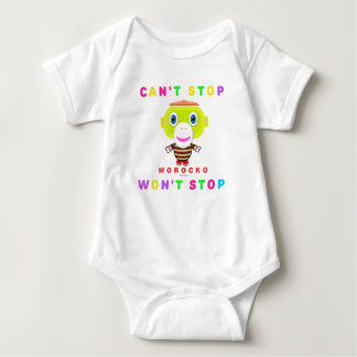 Baby Bodysuit    Cant Stop Wont Stop By Morocko