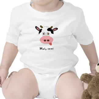 Baby Bodysuit - Cow