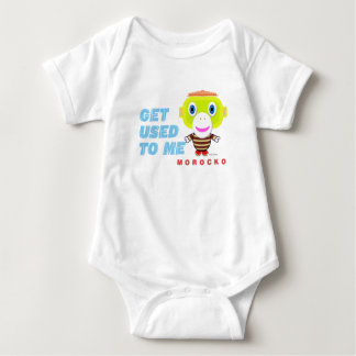 Baby Bodysuit    Get Used To Me By Morocko