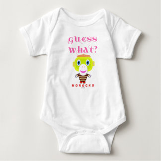 Baby Bodysuit    Guess What By Morocko