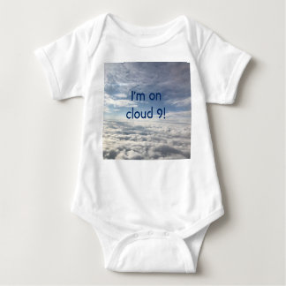Baby Bodysuit - I am on Cloud 9!
