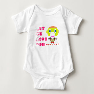 Baby Bodysuit    Let Me Love You By Morocko