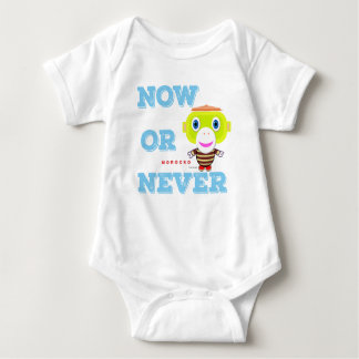 Baby Bodysuit   Now or Never By Morocko