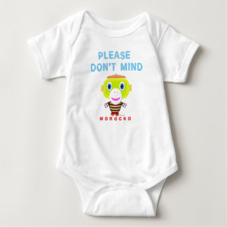 Baby Bodysuit   Please Dont Mind By Morocko