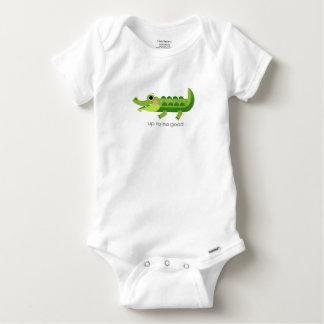 Baby Bodysuit - UP TO NO GOOD - BABY CROCODILE