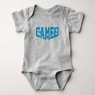 Baby Bodysuit with Cameo logo