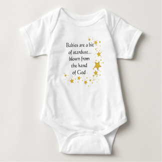 Baby Bodysuit with Stars Blown from Hand of God