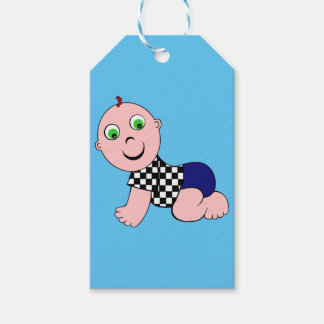 Baby Bold Bald Gift Tags