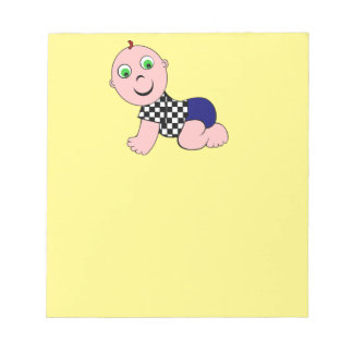 Baby Bold Bald Notepad