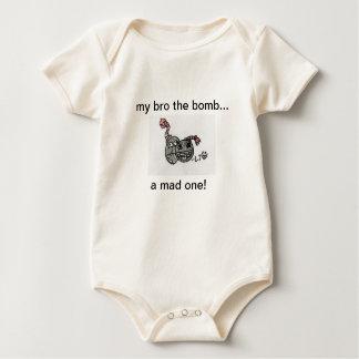 Baby bomb and bomb onsie baby bodysuit