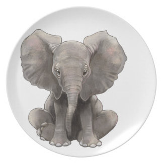 Baby Boo Plate
