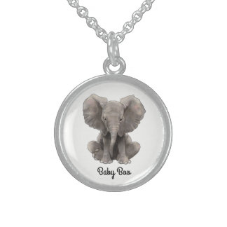 Baby Boo Silver Necklace