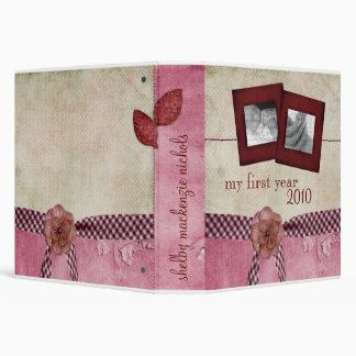 Baby Book: My First Year {TBA WINNER} Binder