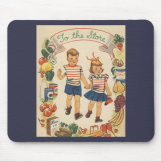 Baby Boom Kids Shopping Mouse Pad