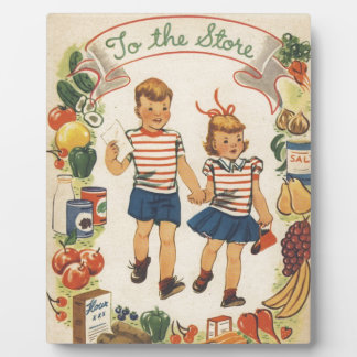 Baby Boom Kids Shopping Plaque