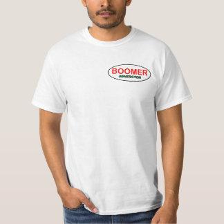 Baby boomer generation T-shirt logo