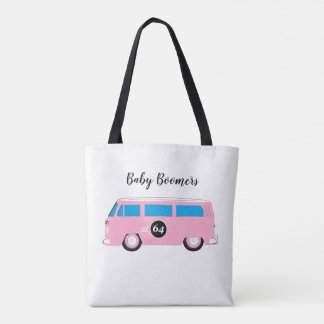 Baby Boomers bug cars   1946 - 1964 generation Tote Bag