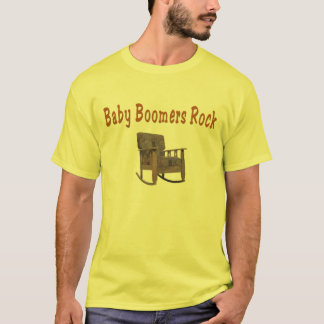 baby boomers rock  t-shirt