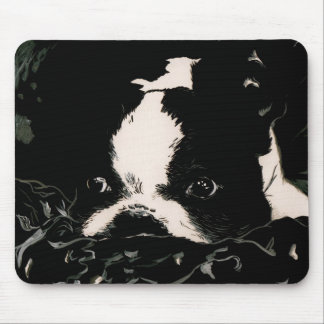 Baby Boston Terrier-Mousepad Mouse Pad