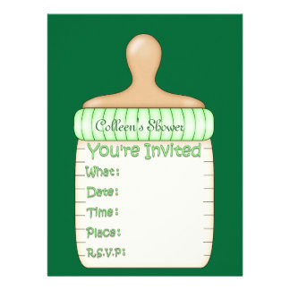 Free Baby Shower Invitation Template as good invitations sample