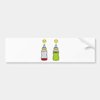 baby bottle bumper sticker