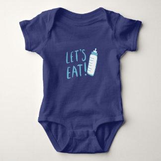Baby Bottle T-shirt Design for Boys