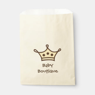 Baby Boutique Crown Logo Favour Bag