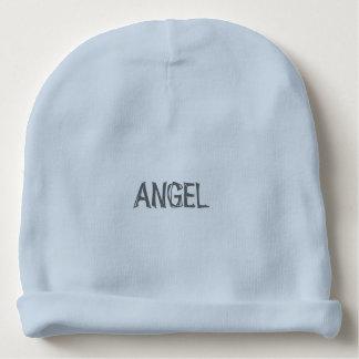 """Baby Boy """"ANGEL"""" Cotton Beanie Baby Beanie"""