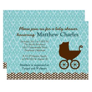 Baby Boy Baby Shower Invitation