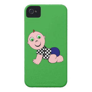 Baby Boy Bald iPhone 4 Case-Mate Cases