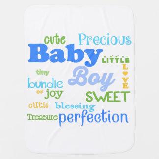 Baby Boy Blanket Stroller Blankets