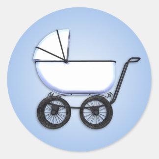 Baby Boy Buggy Sticker