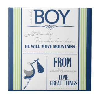 Baby Boy Design Tile