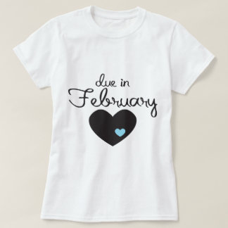 Baby Boy due in February T-Shirt