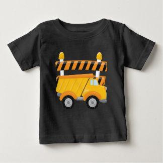 Baby boy dump truck construction t-shirt