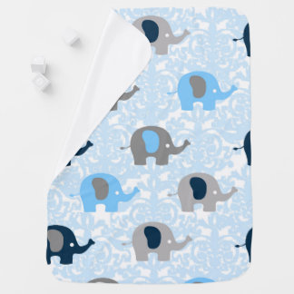Baby Boy Elephant Blanket