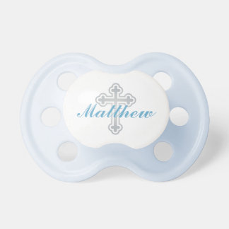 Baby Boy First Name | Silver Cross Pacifier