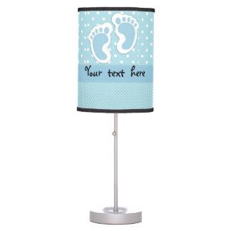 """Baby Boy"" Footprints Table Lamp"