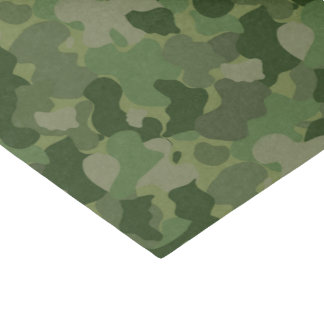 baby boy green camo pattern tissue paper