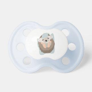 Baby Boy Hedgehog Baby Pacifier