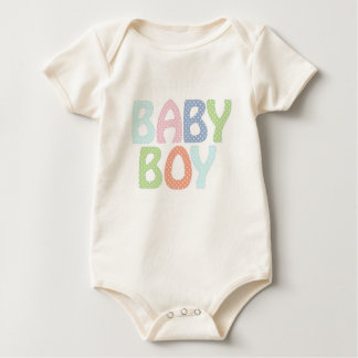 Baby Boy Infant Organic Creeper, Natural Baby Bodysuit