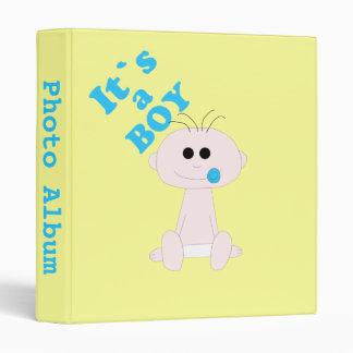 Baby Boy It's A Boy Photo Album Template 3 Ring Binders