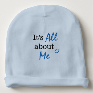 Baby Boy It's All About Me Beanie Baby Beanie