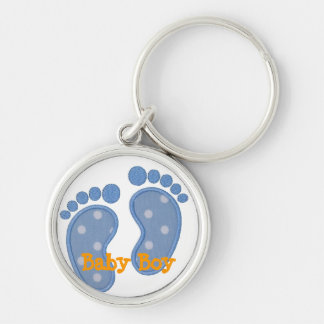 baby boy key chain