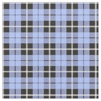 Baby boy light blue white/black stripe fabric